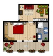 Apartment TYPE A - 31 m2: