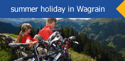 summer holiday in Wagrain